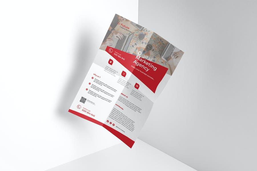 Easy Editable Marketing Flyer