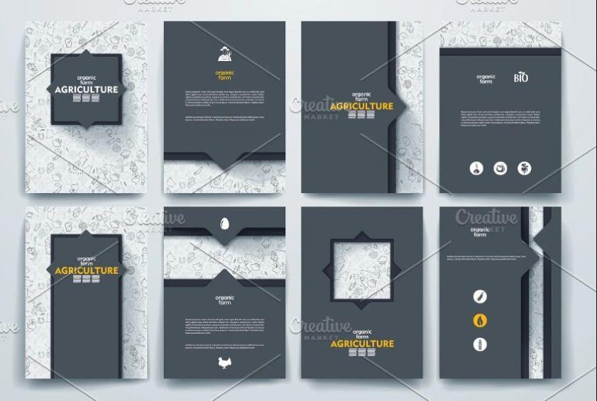 Editable Brochure Templates Set