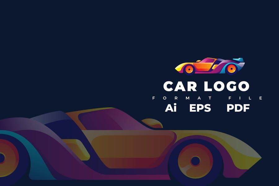 Editable Car Logotype Templates