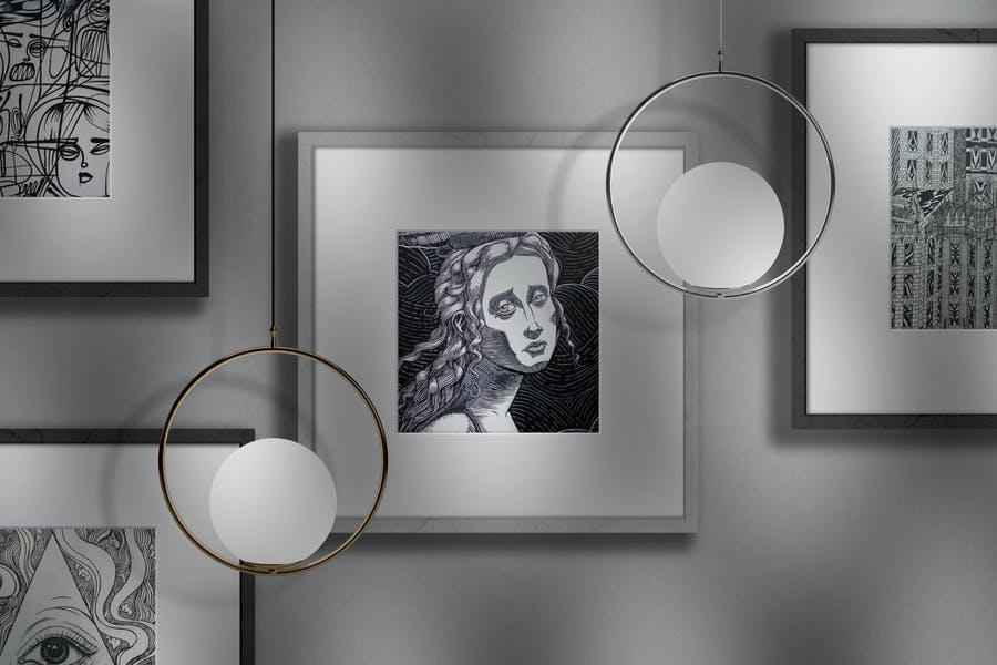 Editable Photo Frame Mockups