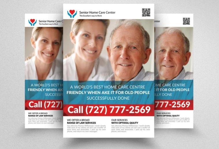 21+ FREE Senior Care Flyer Templates Download