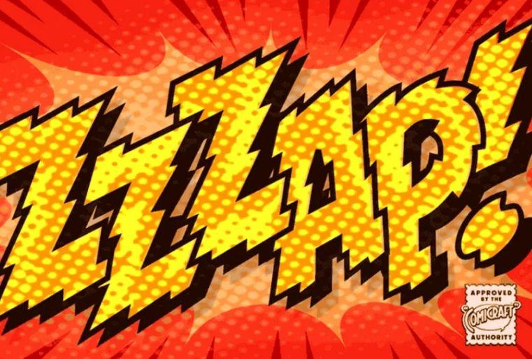 Electric Shock Comic Fonts