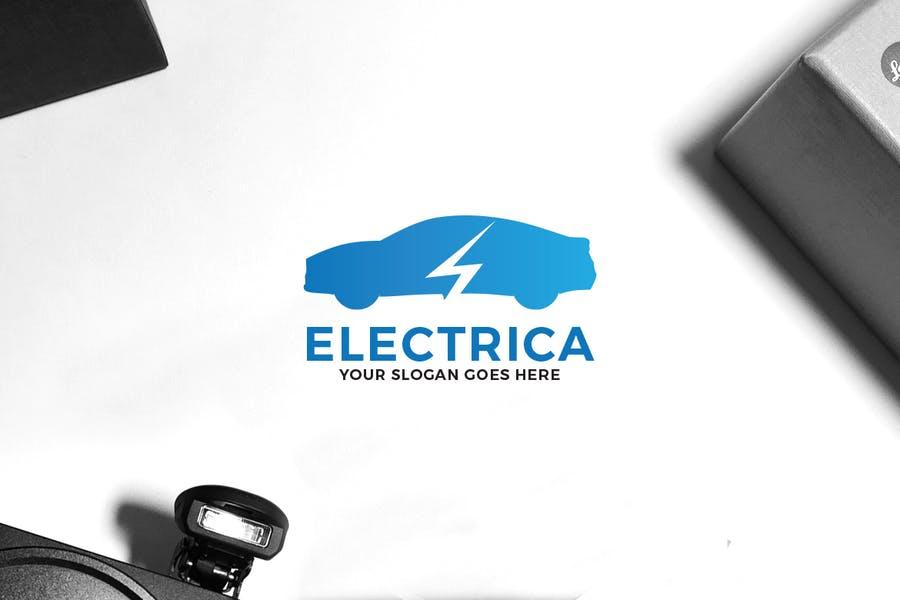 Electric Vehicle Logo Designs