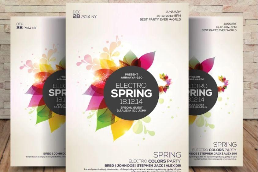 Electro Fest Flyer Designs