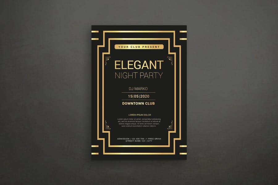 Elegant Night Party Flyer