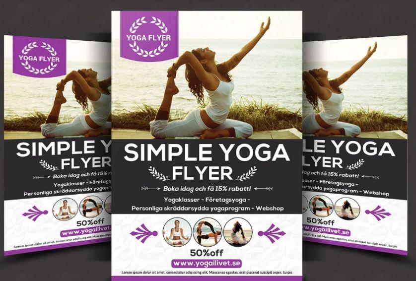 Elegant Promotional Flyer Design