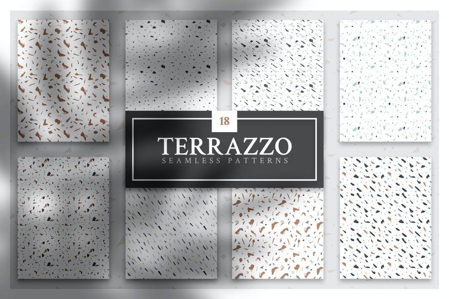 Elegant Terrazzo Seamless Patterns
