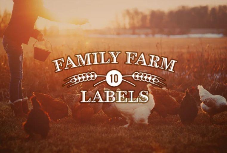 Family Farm Logotype Templates