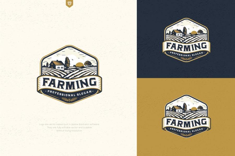 Farming Branding Logotypes