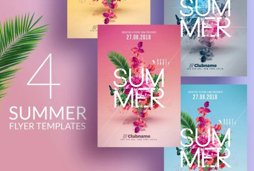 Florist Flyer Templates