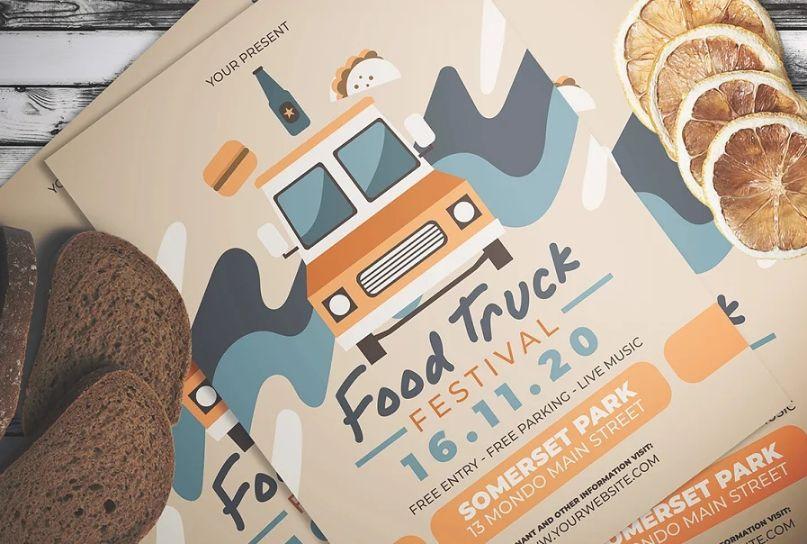 Food Festival Flyer Templates