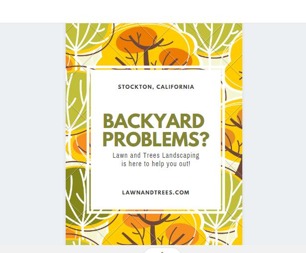 Free Backyard Services Flyer
