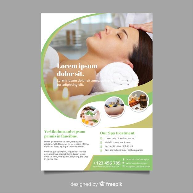 Free Beauty Clinic Flyer