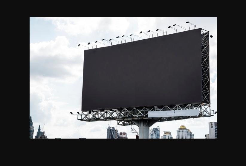 Free Billboard Branding Mockup