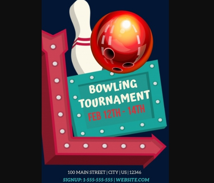 Free Bowling Flyers