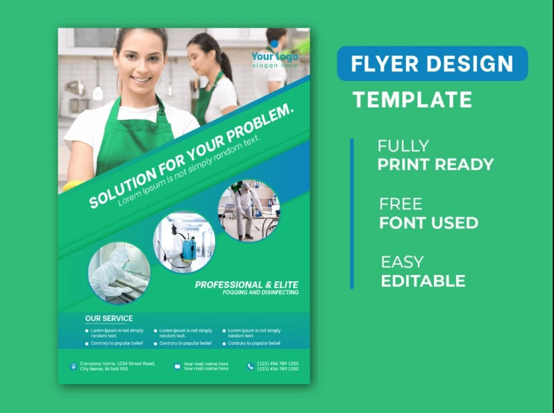 Free Cleaning Services Flyer Download