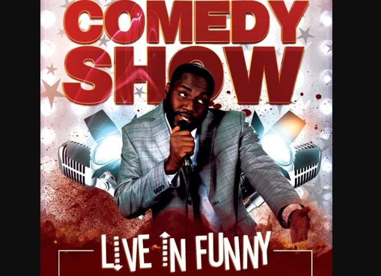 Free Comedy Tour Flyer