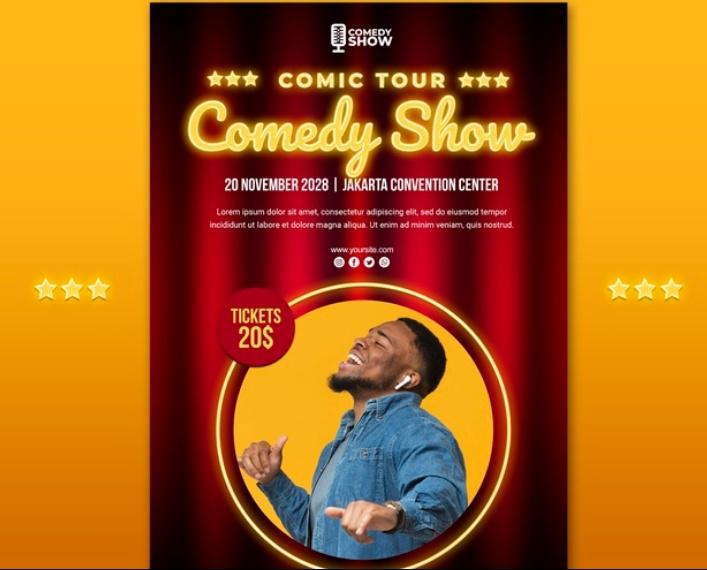 Free Comic Tour Flyer
