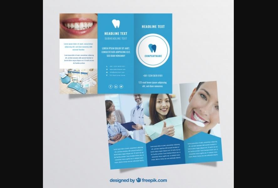 Free Dental Brochure Template