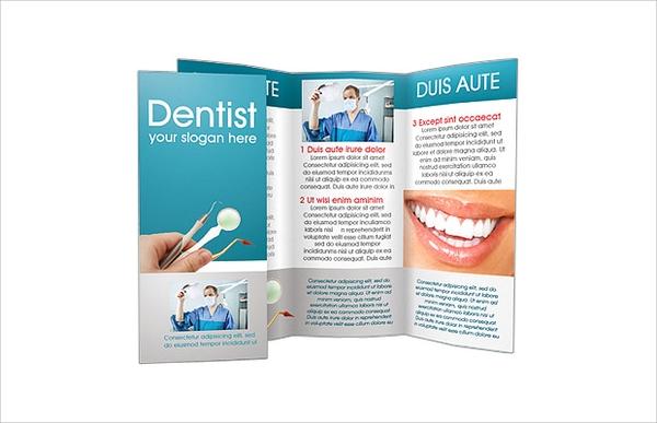 Free Dentist Brochure Design