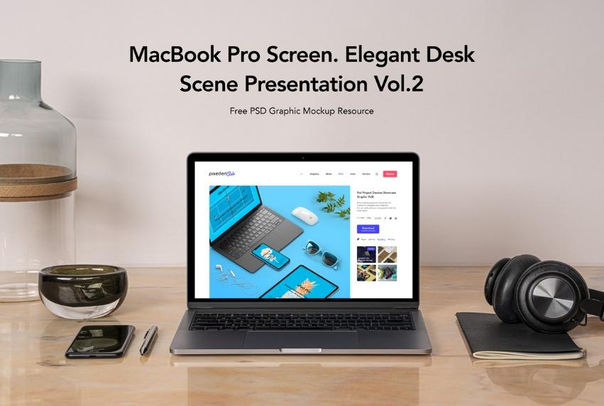 25+ Free MacBook Mockup PSD Presentation Download
