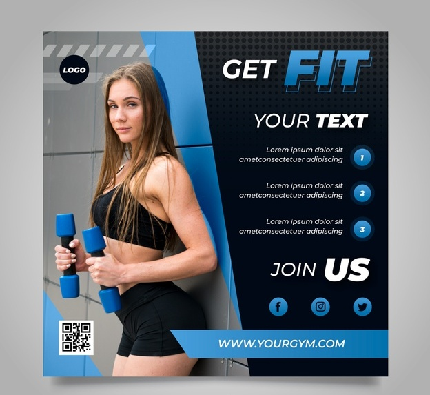 Free Fitness Fyer Template