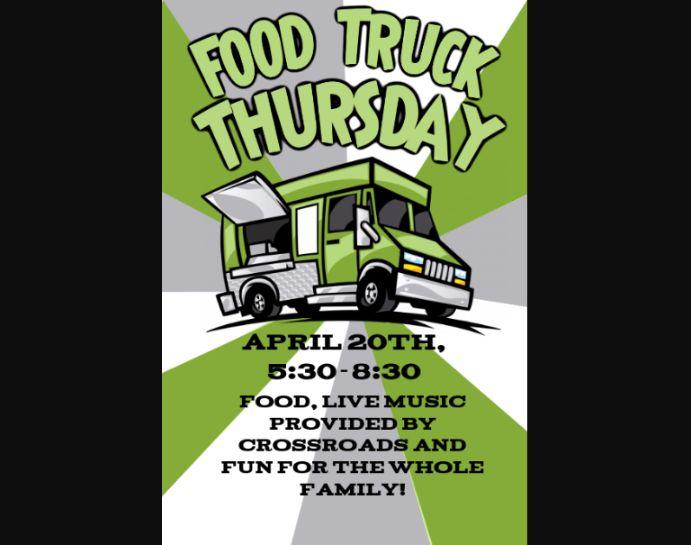 Free Food Truck Flyer