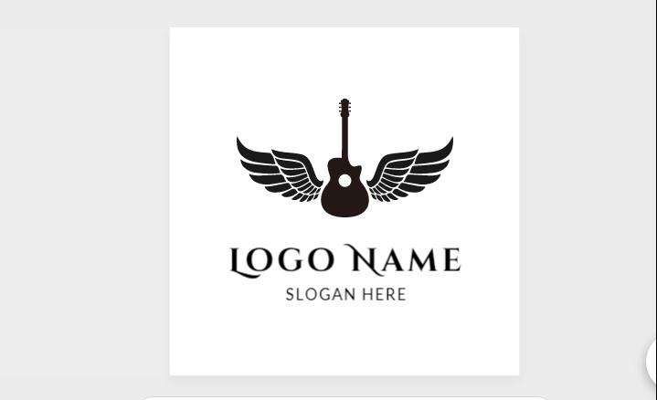 Free Guitar with Logo Design