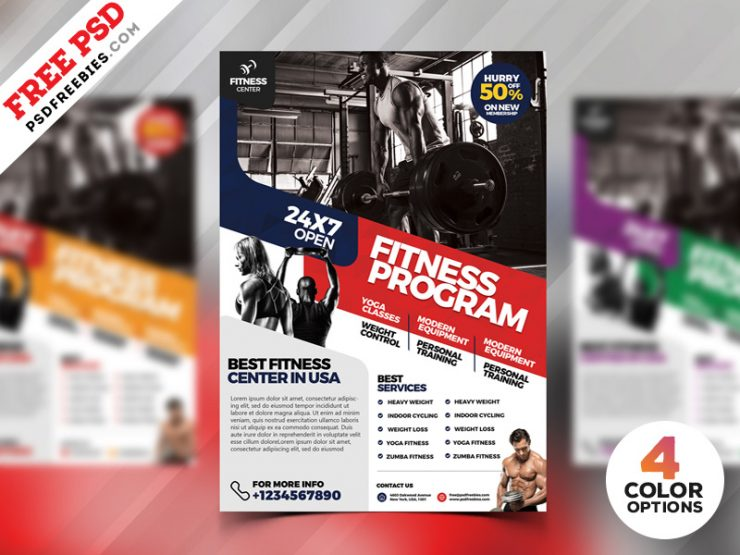 Free Gym Flyer Download