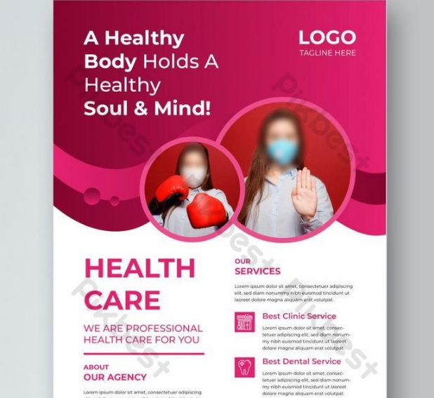 Free Health Care Flyer