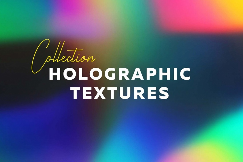 Free Holographic Textures Collection