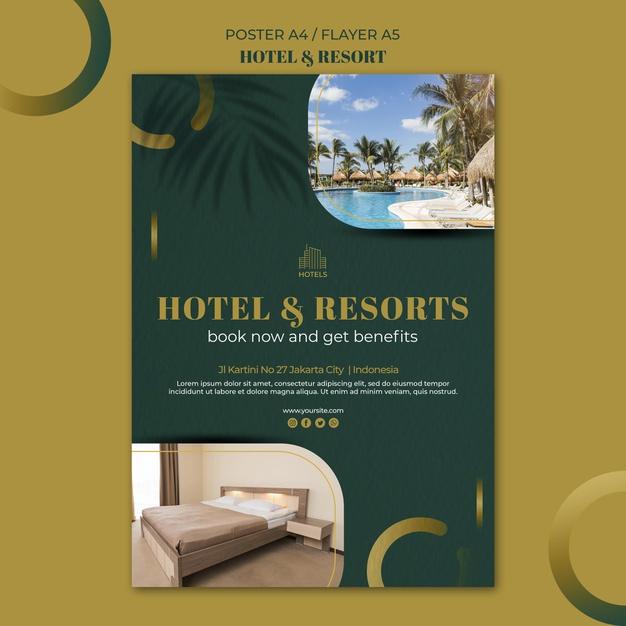 Free Hotel Flyer Design