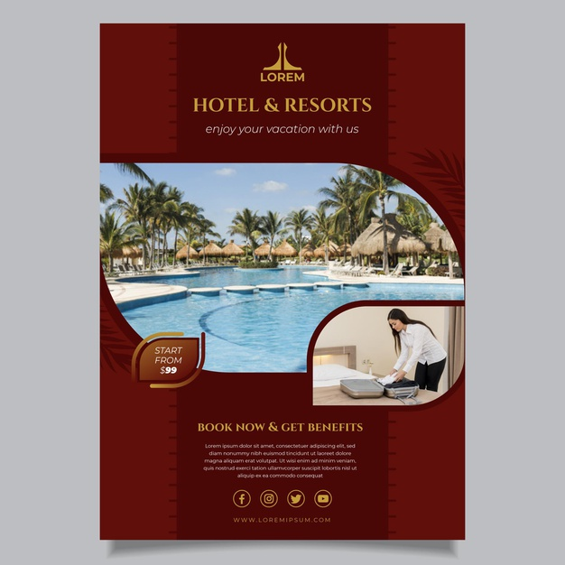 Free Hotel Flyer Templates