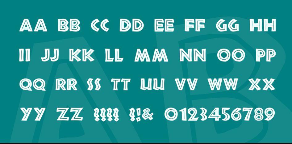 Free Inline Tattoo Fonts