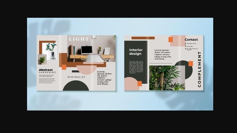 Free Interior Brochure Template