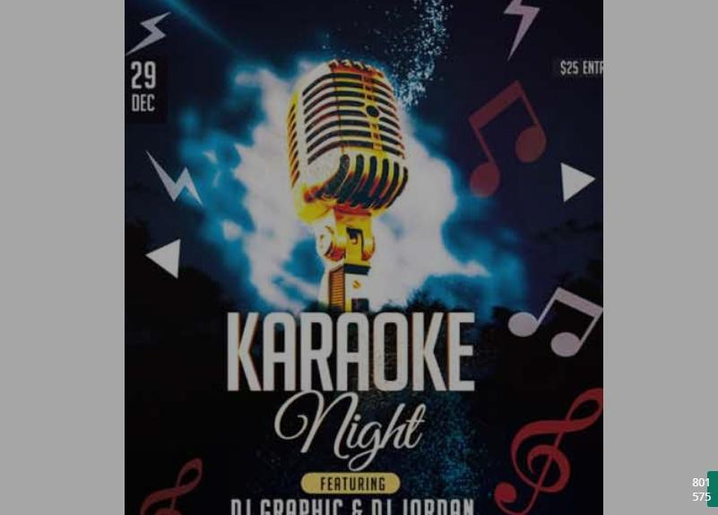 Free Karoke Night Flyer Template