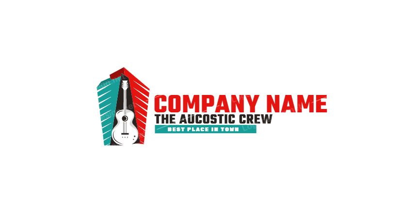 Free Music Company Logo Design