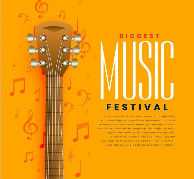 Free Music Concert Flyer