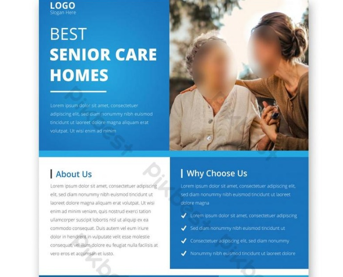 Free Old Home Care Flyer