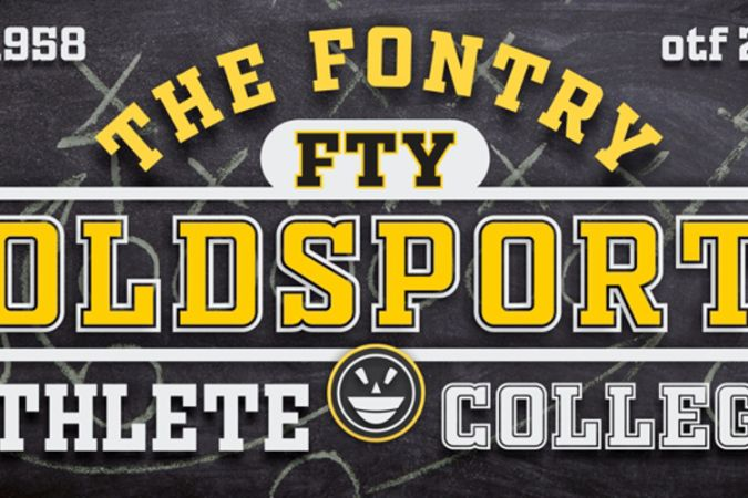 Free Old Sport Fonts