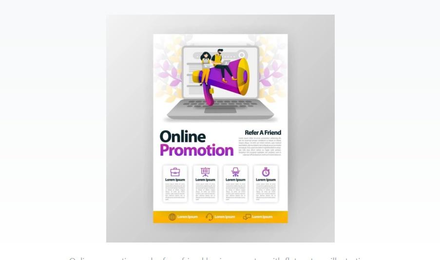 Free Online Promotional Flyer