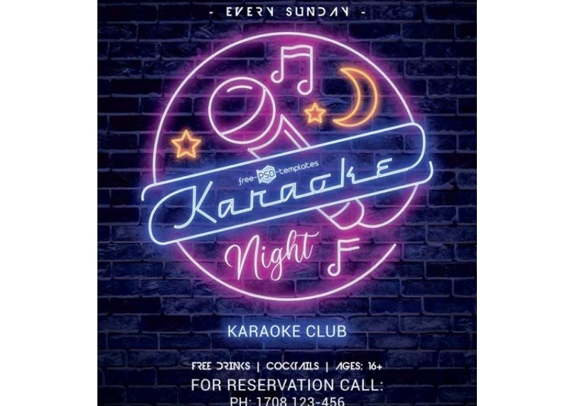 Free Party Night Flyer Template