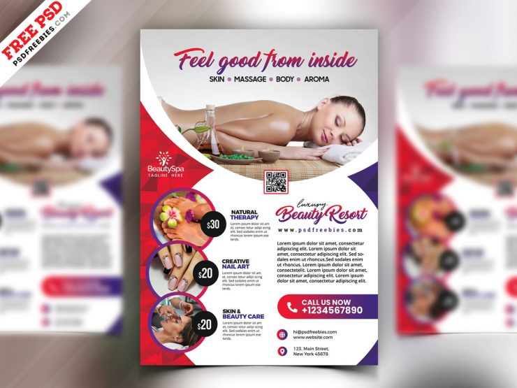 Free Spa Flyer Templates