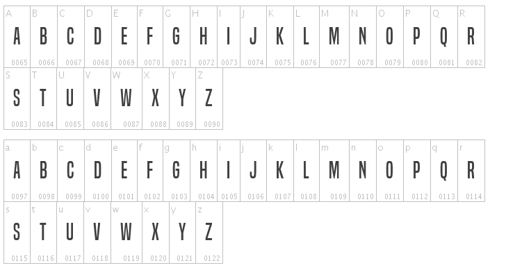 Free Tilting Fonts