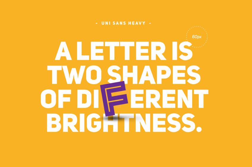 Free Two Shape Fonts