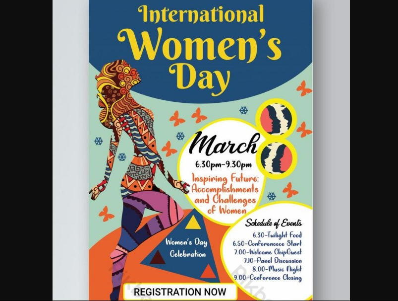 Free Womens Day Promotion Flyer