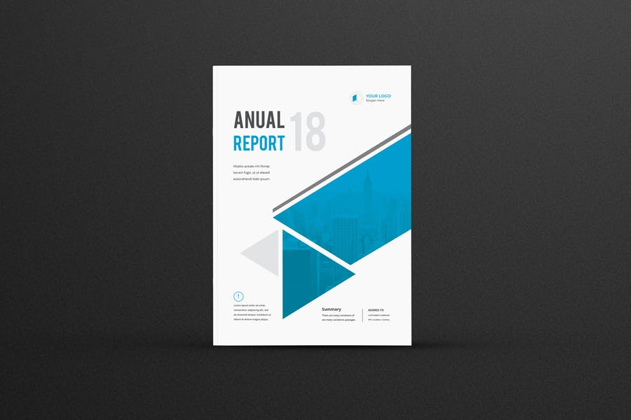 Fully Editable Annual Report Designs