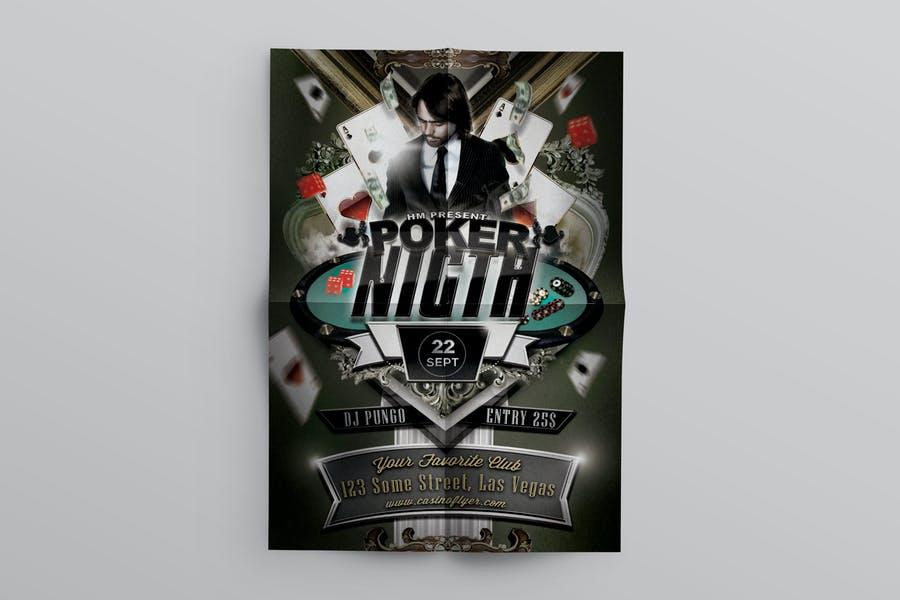 Fully Editable Casino Flyer