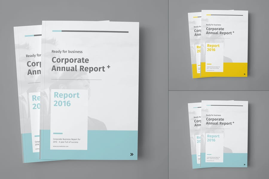 Fully Professional Annual Report Templates