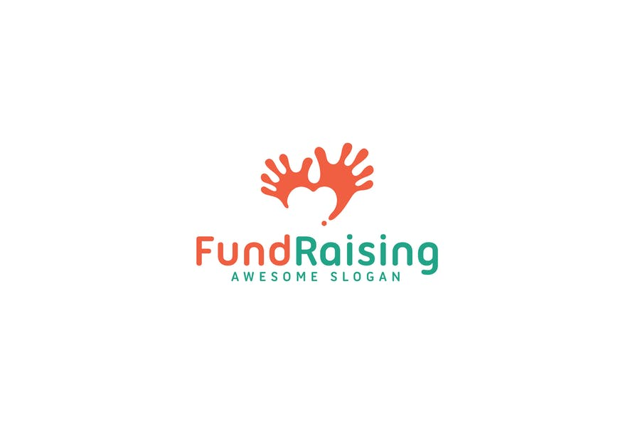 Fundraising Logo Design Idea